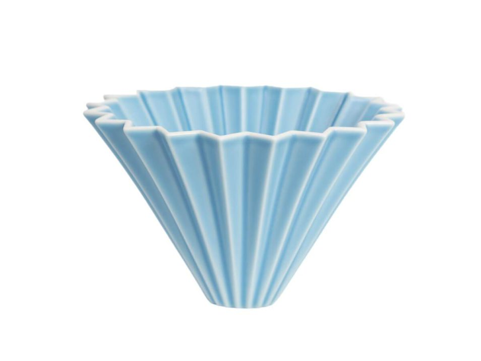 Origami Dripper Matte Blue Sweet Beans Specialty Coffee Roasters Vyberova Kava